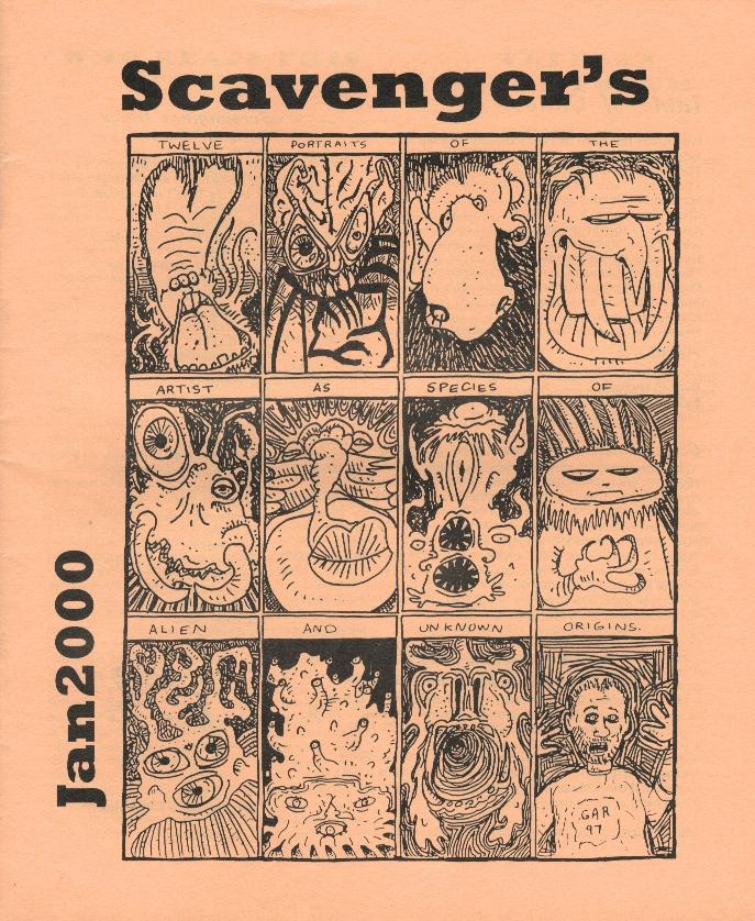 Scavenger's Newsletter #7 (9/84): Al Manachino, Steve Sneyd, John Postovit, Fox